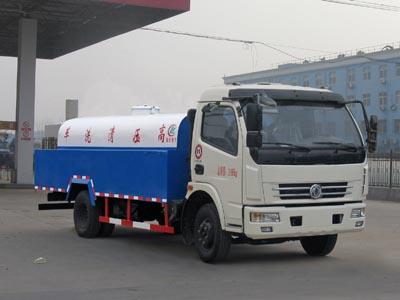 程力威牌CLW5111GQW5型清洗吸污车