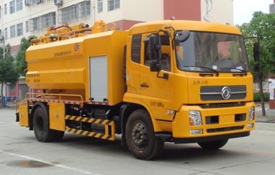 程力威牌CLW5182GQW5型清洗吸污车